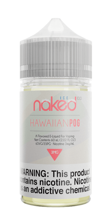 Naked 100 Ice E-Liquid - Hawaiian POG Ice