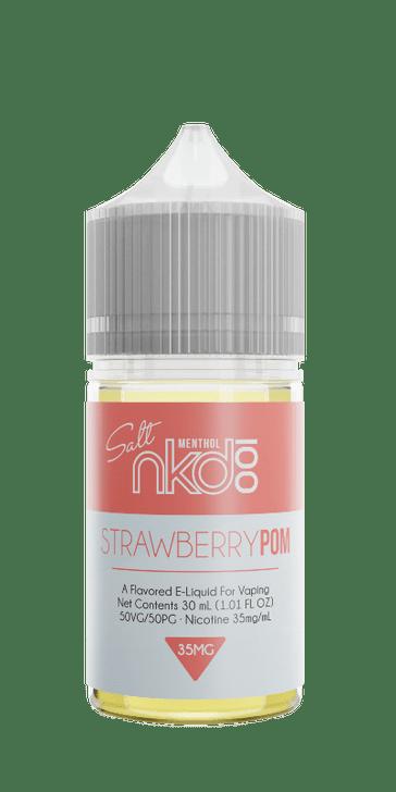 Naked 100 Salt E-Liquid - Strawberry POM