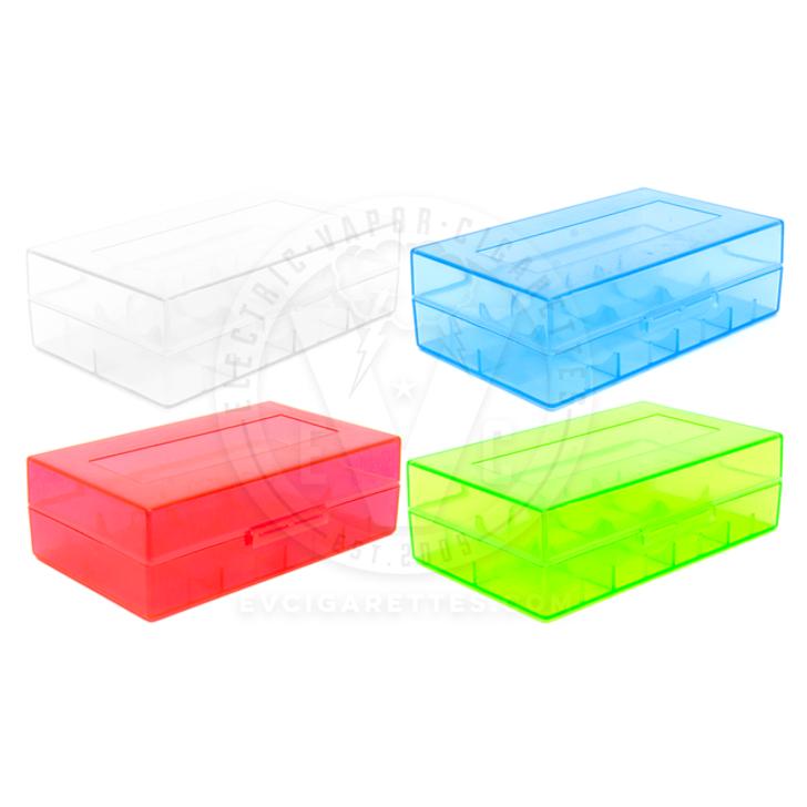Dual 20700 | 21700 Plastic Battery Case