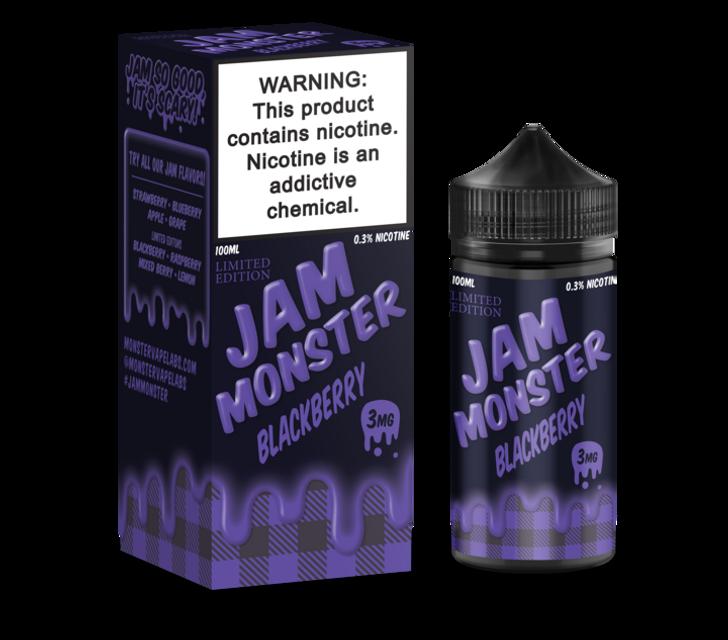 Jam Monster E-Liquid - Blackberry Jam