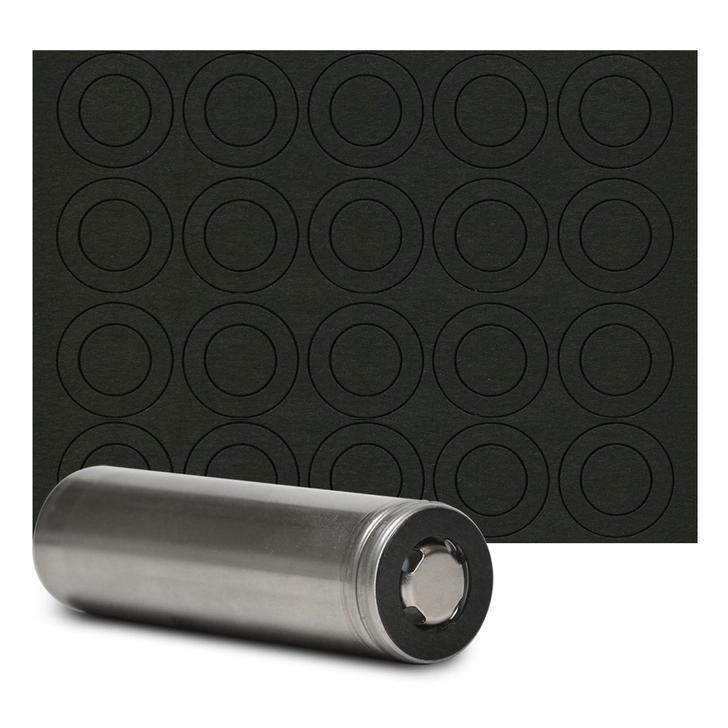 18650 Flat Top Battery Terminal Insulator (20pc)