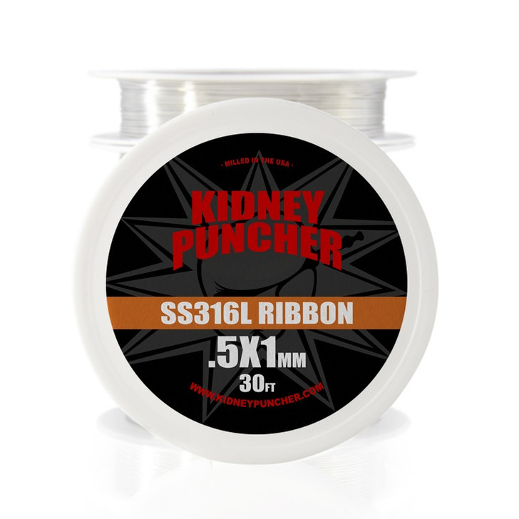 Kidney Puncher SS316L Ribbon Wire Spool