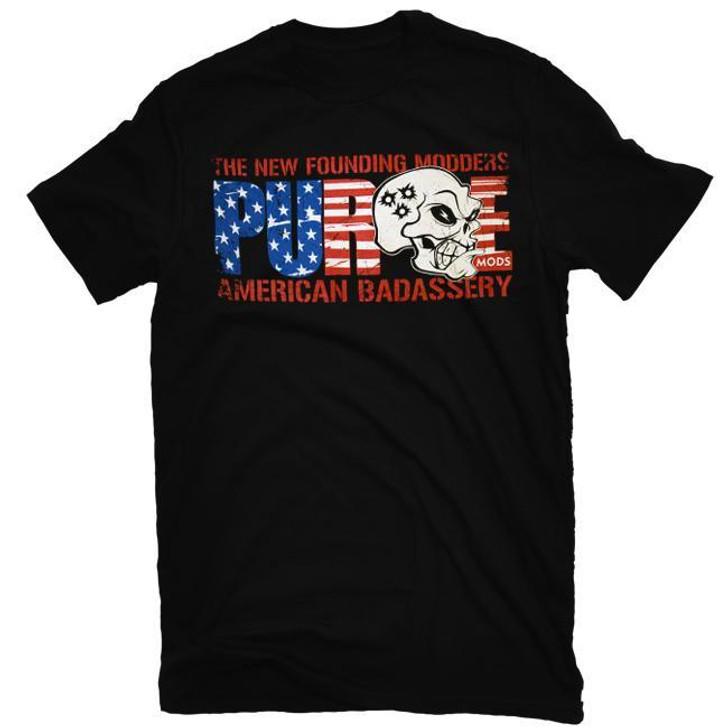 Purge American Badassery T-Shirt by Purge Mods