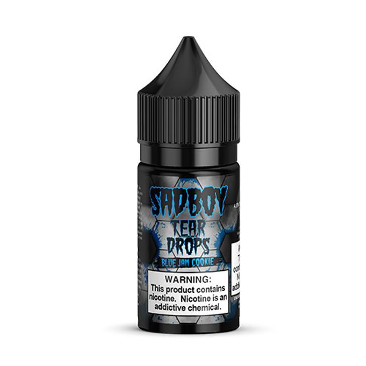 Sadboy Tear Drops Salt E-Liquid - Blue Jam Cookie