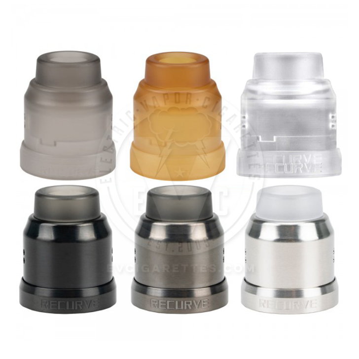 Recurve RDA 22mm Conversion Cap by Wotofo