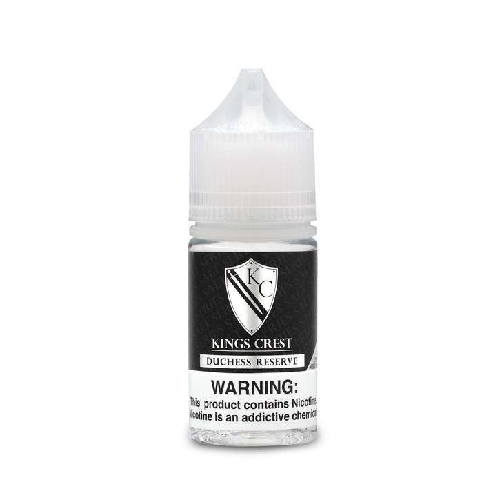 King's Crest Salts Series E-Liquid - Duchess Reserve