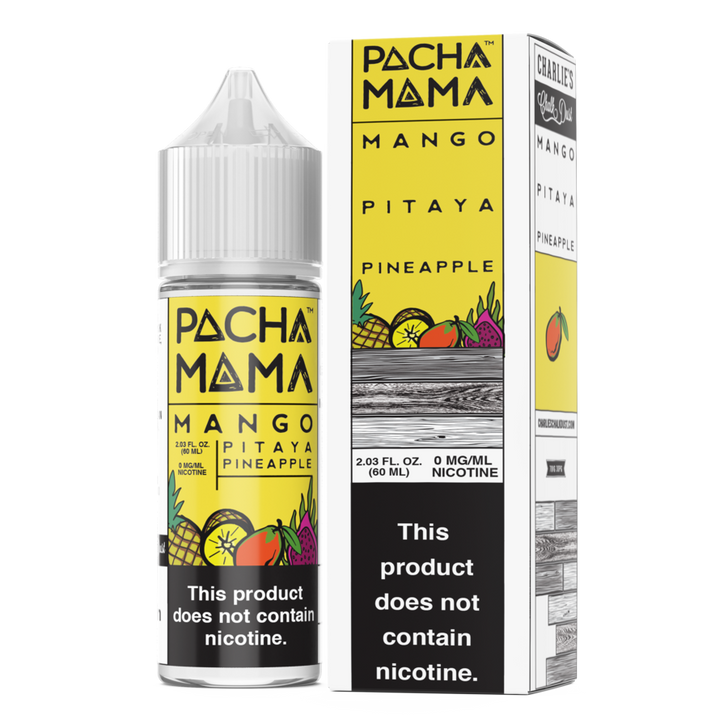 Pachamama E-Liquid - Mango Pitaya Pineapple