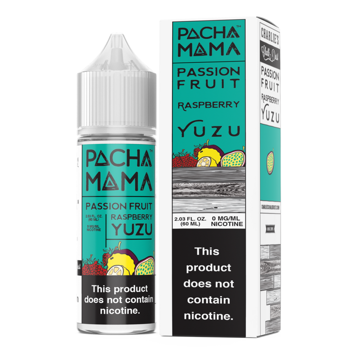 Pachamama E-Liquid - Passion Fruit Raspberry Yuzu