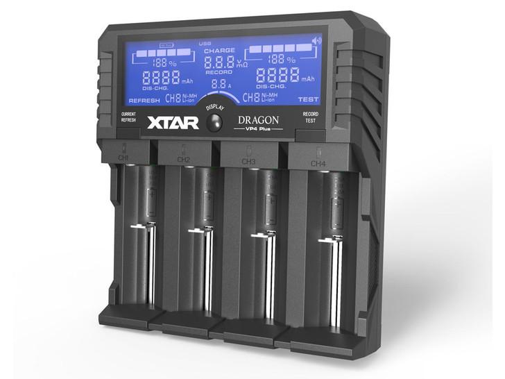 XTAR Dragon VP4 Plus Battery Charger