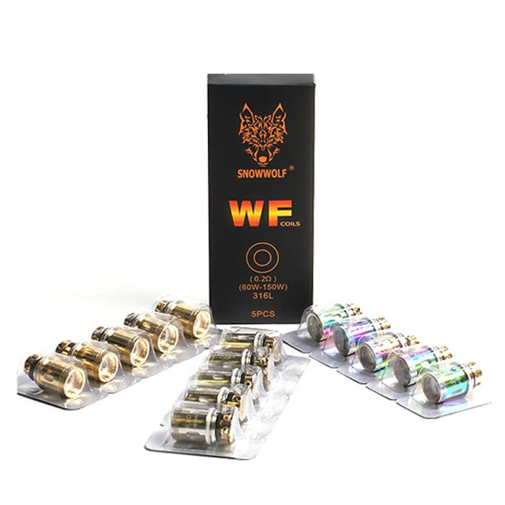 SnowWolf WF | WF-H Atomizer Coil Heads by Sigelei (5pcs)