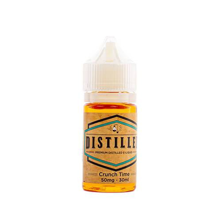 Distilled Salt E-Liquid - Crunch Time