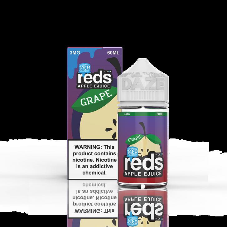 Reds Apple E-Liquid - Grape Apple Iced