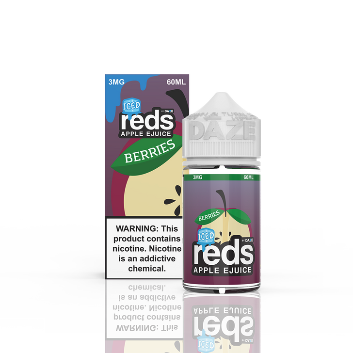 Reds Apple E-Liquid - Berries Apple Iced