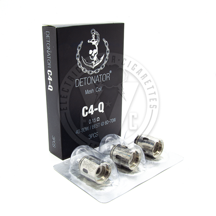 Detonator Atomizer Coil Heads by Squid Industries (3pcs)