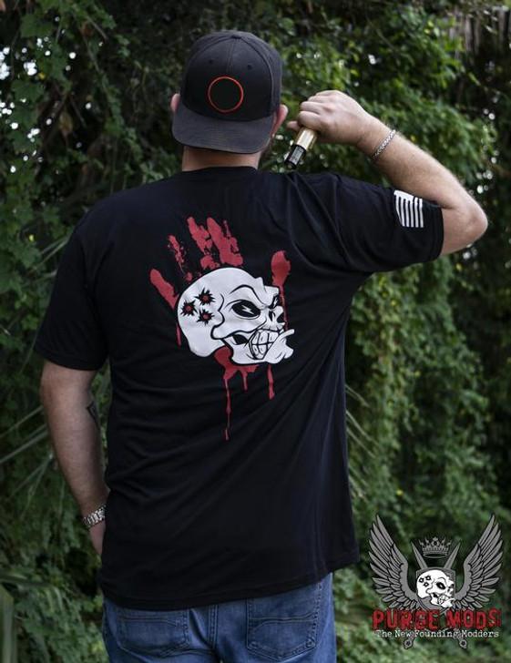 Purge Blood Hand T-Shirt by Purge Mods