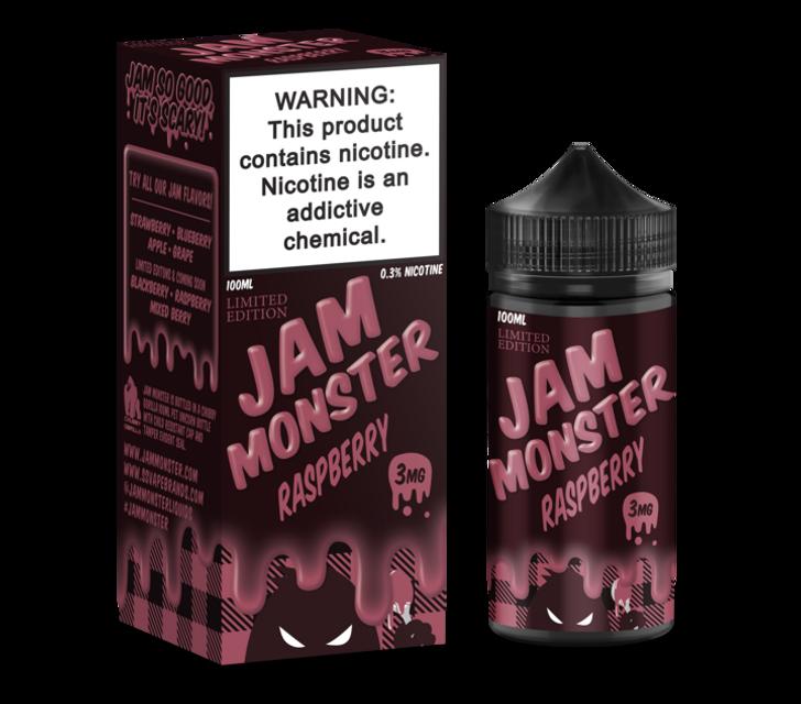 Jam Monster E-Liquid - Raspberry Jam