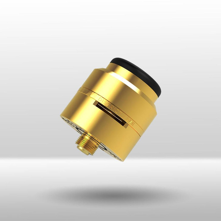 24K GoldieCake (Gold LayerCake) (LC1) 24mm RDA by District F5ve