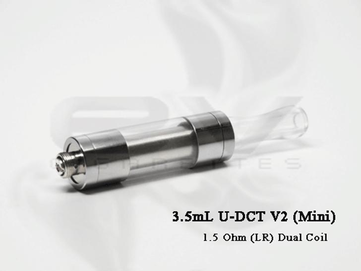 Smoktech 510 UDCT Dual Coil LR Cartomizer 3.5mL (Mini) Tank | 1.5 ohm