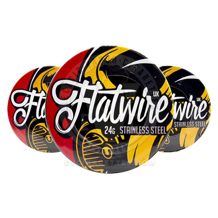 10' SS316L Wire Spool by Flatwire UK