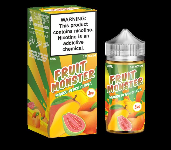 Fruit Monster E-Liquid - Mango Peach Guava