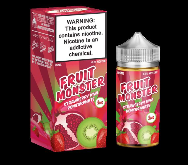Fruit Monster E-Liquid - Strawberry Kiwi Pomegranate