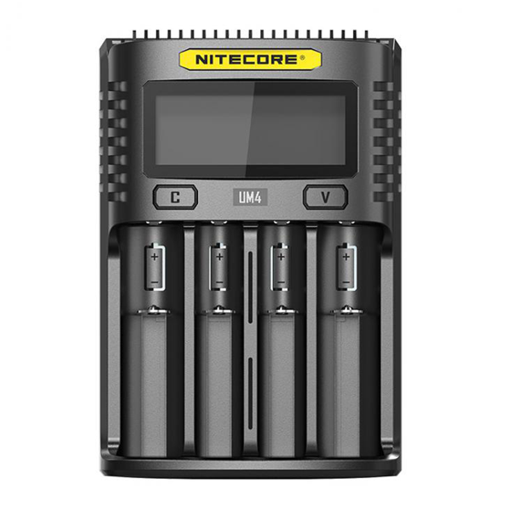 Nitecore UM4 Intelligent USB Four-Slot Battery Charger
