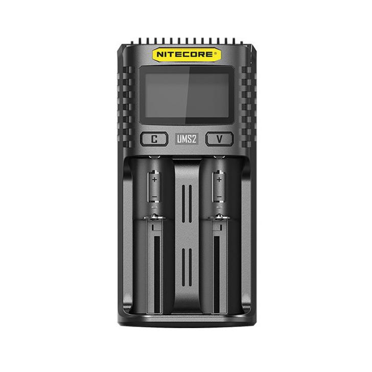 Nitecore UMS2 Intelligent USB Dual-Slot Superb Battery Charger