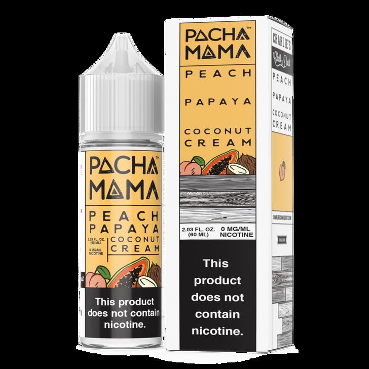 Pachamama E-Liquid - Peach Papaya Coconut Cream