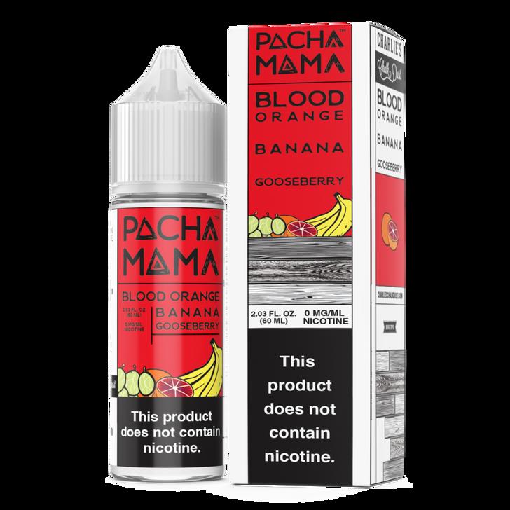 Pachamama E-Liquid - Blood Orange Banana Gooseberry