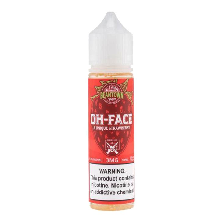 Beantown Vapor E-Liquid - Oh Face