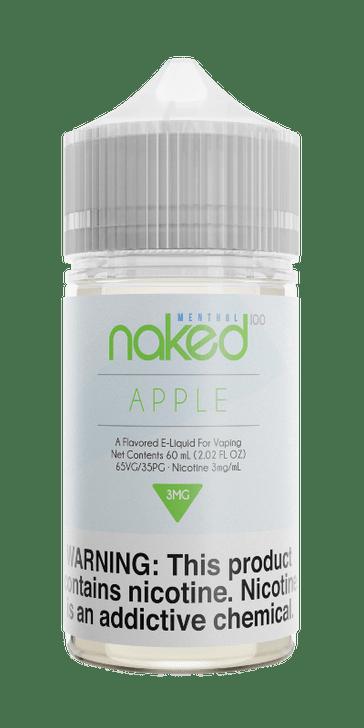 Naked 100 Menthol E-Liquid - Apple