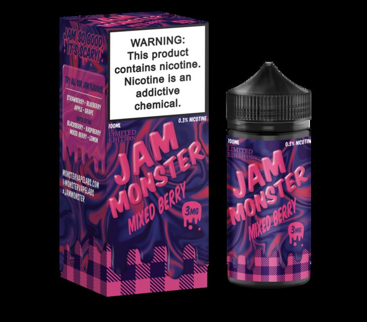 Jam Monster E-Liquid - Mixed Berry Jam