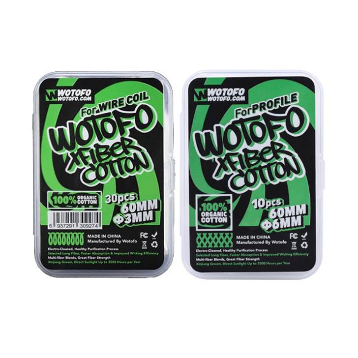Wotofo XFiber Organic Cotton