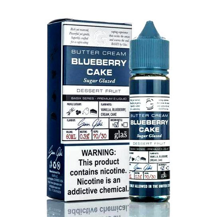 Glas Basix E-Liquid - Blueberry Cake