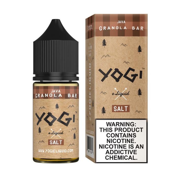 Yogi Salt E-Liquid - Java Granola Bar