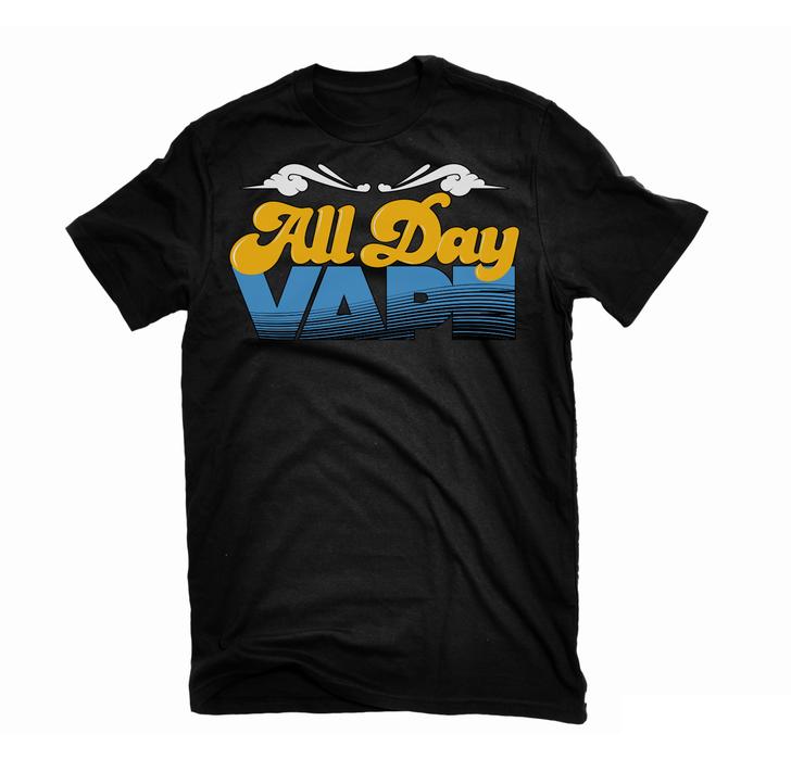 All Day Vape Logo T-Shirt