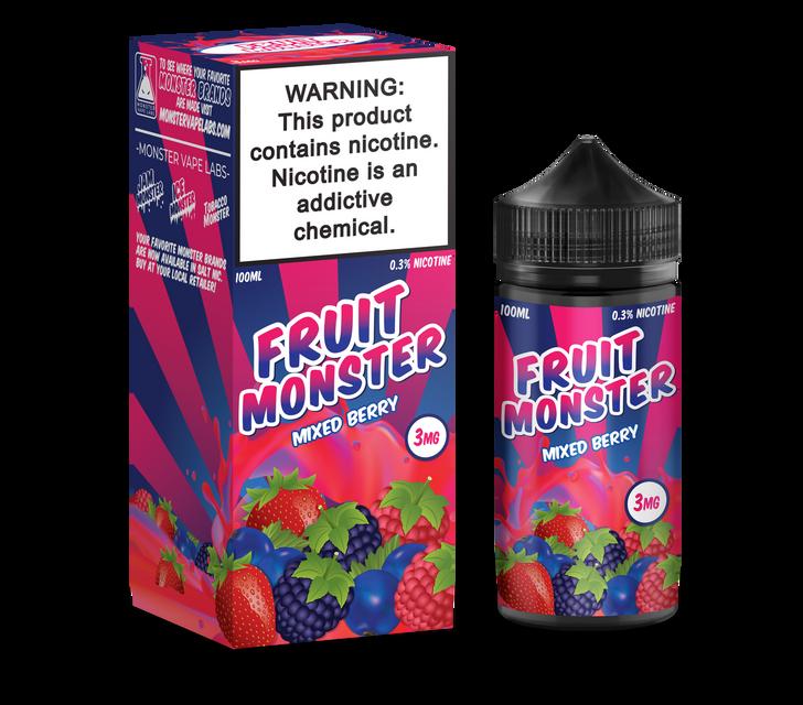 Fruit Monster E-Liquid - Mixed Berry
