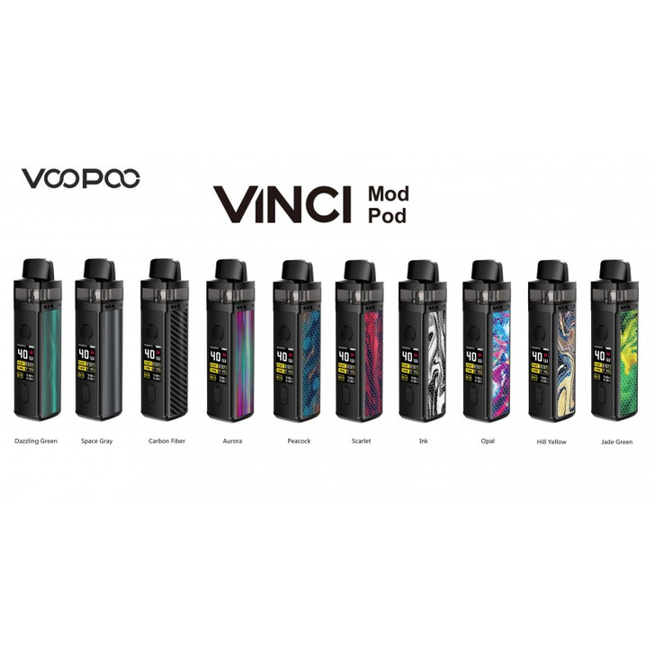 Vinci MOD Pod System (5 Coils Included) by VooPoo