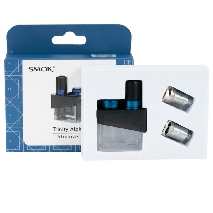 Trinity Alpha Pod & Coil Replacement by Smok