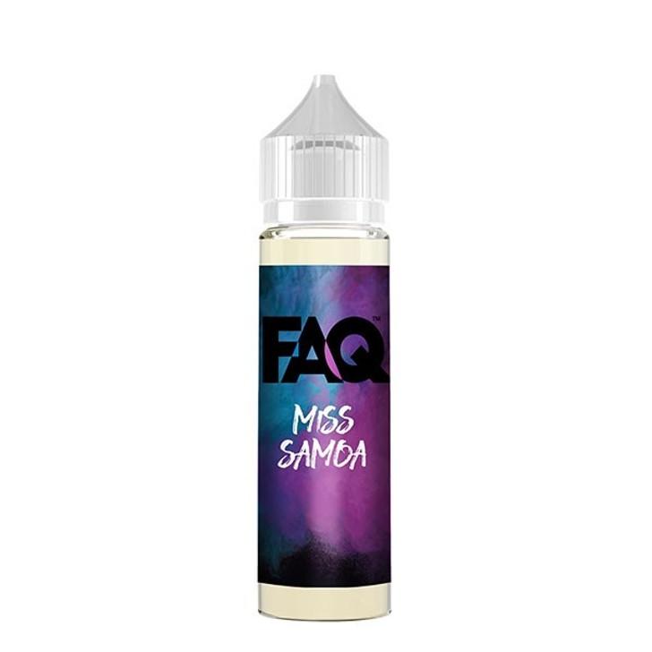 FAQ E-Liquid - Miss Samoa
