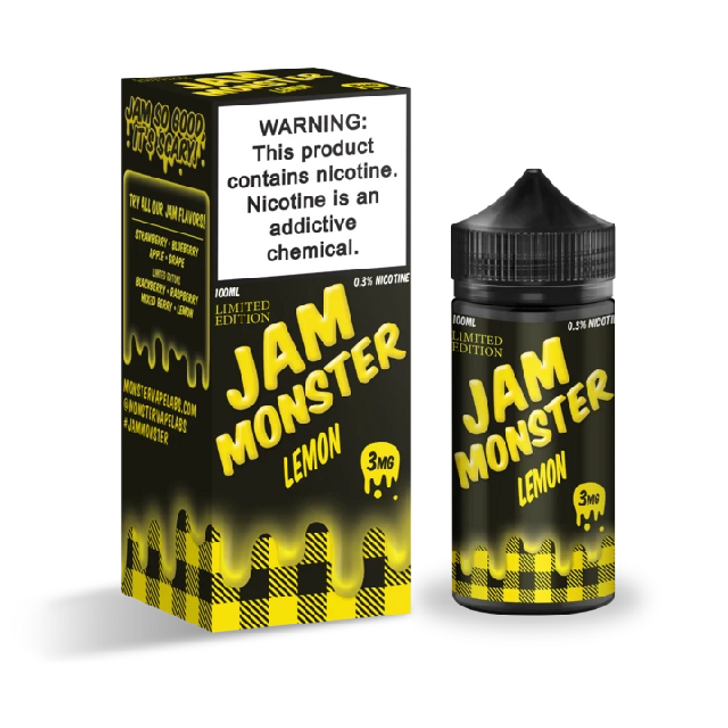 Jam Monster E-Liquid - Lemon Jam