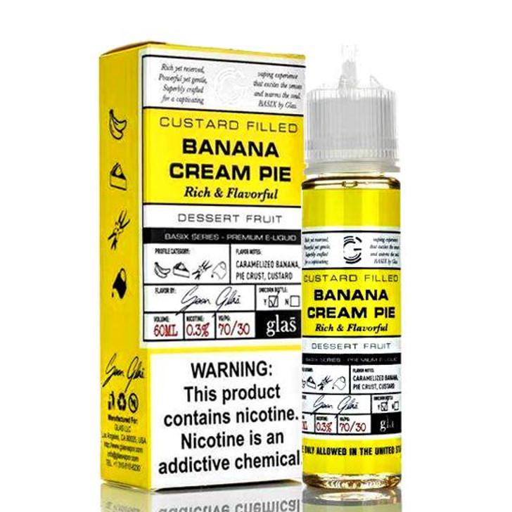 Glas BSX Series E-Liquid - Banana Cream Pie