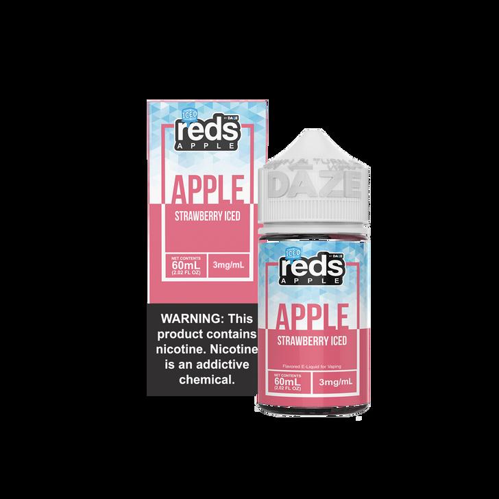 Reds Apple E-Liquid - Strawberry Apple Iced