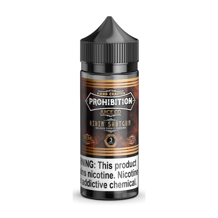 Prohibition Juice Co. E-Liquid - Ridin' Shotgun