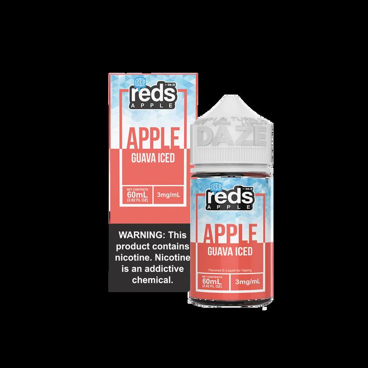 Reds Apple E-Liquid - Guava Apple Iced