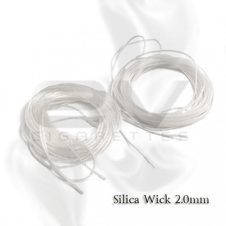Silica Wick for Rebuildables ( RBAs ) | 2.0mm  Price includes one (1) meter wick (39.37 inches)