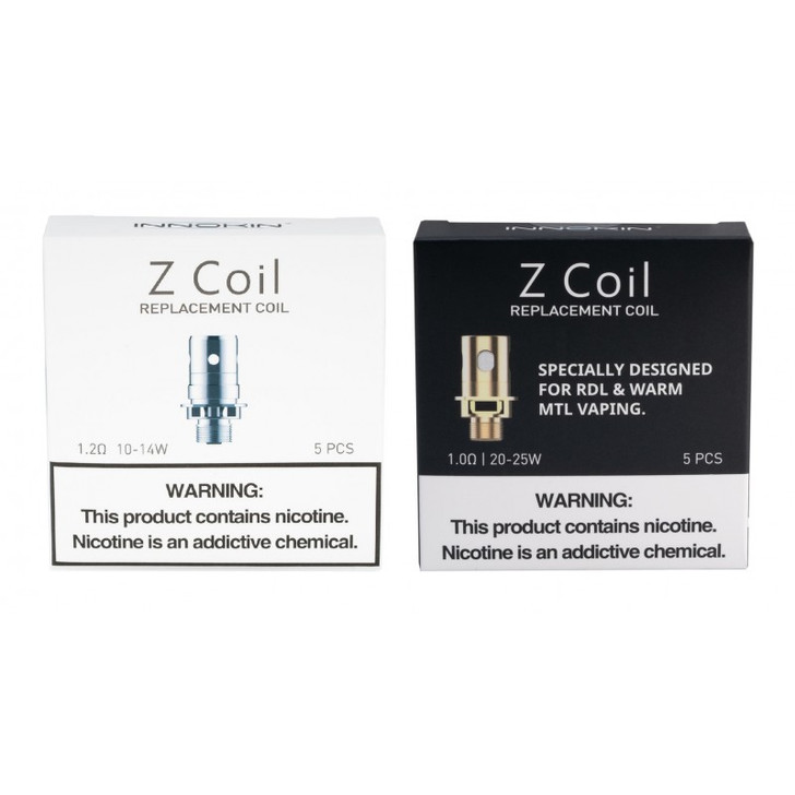 Zenith (Z-Coil) Coil Replacement by Innokin (5pc)