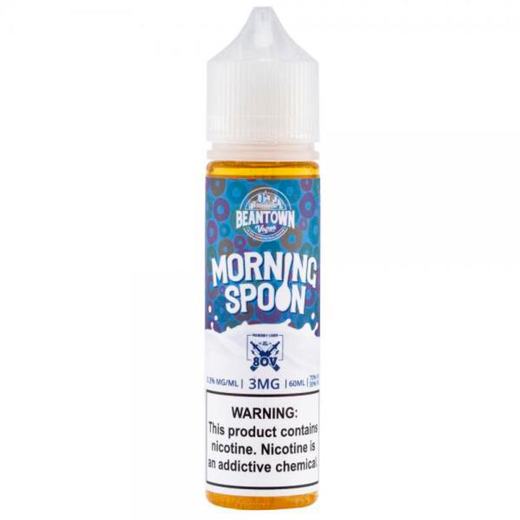 Beantown Vapor & 80V E-Liquid - Morning Spoon