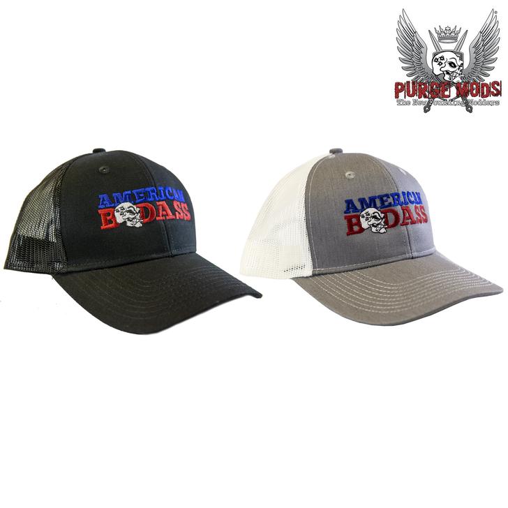 Purge American Badass Trucker Hat by Purge Mods
