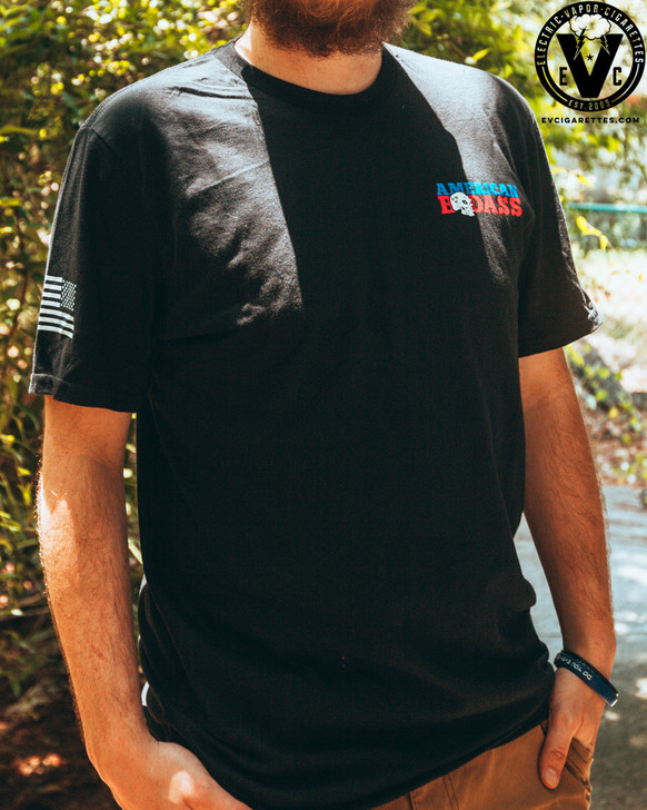 Purge American Badass w/ EVC Logo T-Shirt by Purge Mods